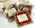imperial exquisite glass photo coasters