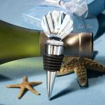choice crystal shell design wine bottle stoppers